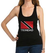 Trinidad Flag Racerback Tank Top