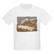Climbed Great Wall Photo - Kids T-Shirt