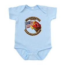 Fire - Firefighter - Texas Infant Bodysuit