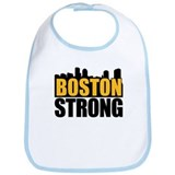 Boston Strong Gold Black Bib