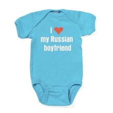 I love my Russian boyfriend Baby Bodysuit