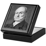 John Quincy Adams Keepsake Box