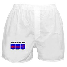Eat Sleep Kick, Tae Kwon Do Boxer Shorts