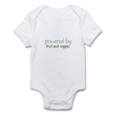 Powered By fruit and veggies Infant Bodysuit