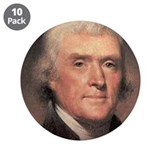 "Thomas Jefferson 3.5"" Button (10 pack)"
