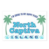 North Captiva Happy Place - Postcards (Package of