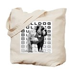 Urban Bulldog Tote Bag