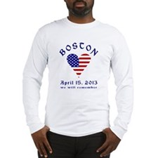 Boston Remembrance Long Sleeve T-Shirt