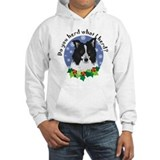 Border Collie Christmas Jumper Hoody
