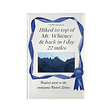 Mt. Whitney Rectangle Magnet (100 pack)
