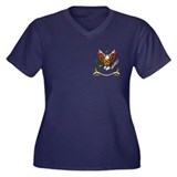 7th Cavalry Regiment Women's Plus Size V-Neck Dark
