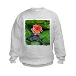 Water Lily Kids Sweatshirt