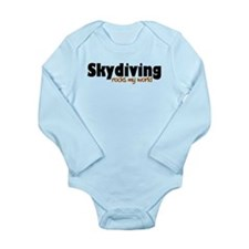 'Skydiving' Long Sleeve Infant Bodysuit