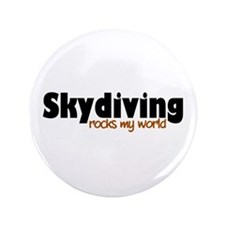 "'Skydiving' 3.5"" Button"