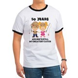 50th Anniversary Mens Fishing T