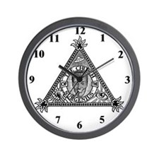 Sacred Church Logo Wall Clock