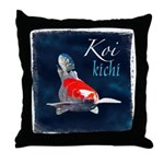 Kohaku Koi Throw Pillow