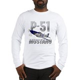 mustang_shirt_white Long Sleeve T-Shirt