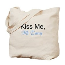 Kiss Me, Mr. Darcy Tote Bag