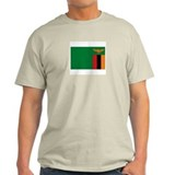 Zambia Ash Grey T-Shirt