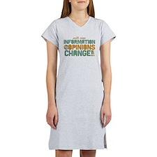 Grunge Opinions Change Women's Nightshirt