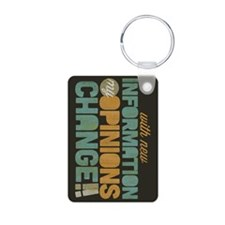 Grunge Opinions Change Keychains