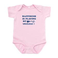 Ukulele Vector Designs Infant Bodysuit