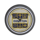 City of Compton Wall Clock