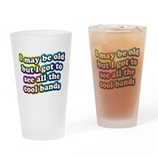 All The Cool Bands Drinking Glass