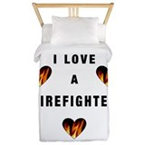 I Love A Firefighte... Twin Duvet