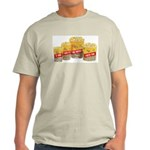 Movie Popcorn Ash Grey T-Shirt
