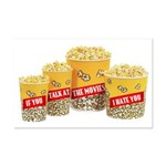 Movie Popcorn Mini Poster Print