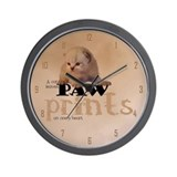 Lovely Red Kitten Wall Clock