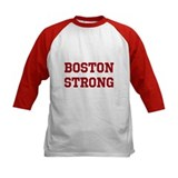 Boston Strong (Red) Baseball Jersey