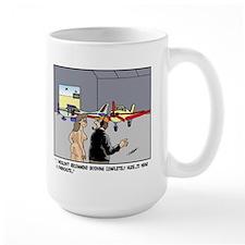 Nude Skydiver Mug