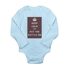 Keep Calm and Put the Kettle On Baby Outfits
