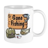 Great Grandpa Gone Fishing Mug