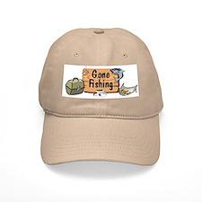 Great Grandpa Gone Fishing Baseball Cap