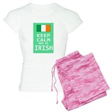 Keep Calm and Be Irish pajamas