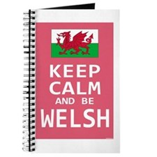 Keep Calm and Be Welsh Journal