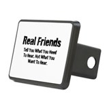 Real Friends Rectangular Hitch Cover