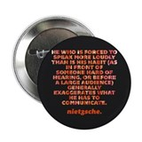 "He Who Is Forced To Speak 2.25"" Button"