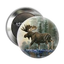 "Moose 2.25"" Button (10 pack)"