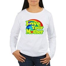 Retro Love Your Mother Long Sleeve T-Shirt