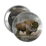 "Bison 2.25"" Button (100 pack)"