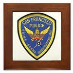 San Francisco Police CSI Framed Tile