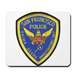 San Francisco Police CSI Mousepad