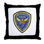 San Francisco Police CSI Throw Pillow
