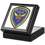 San Francisco Police CSI Keepsake Box