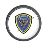 San Francisco Police CSI Wall Clock